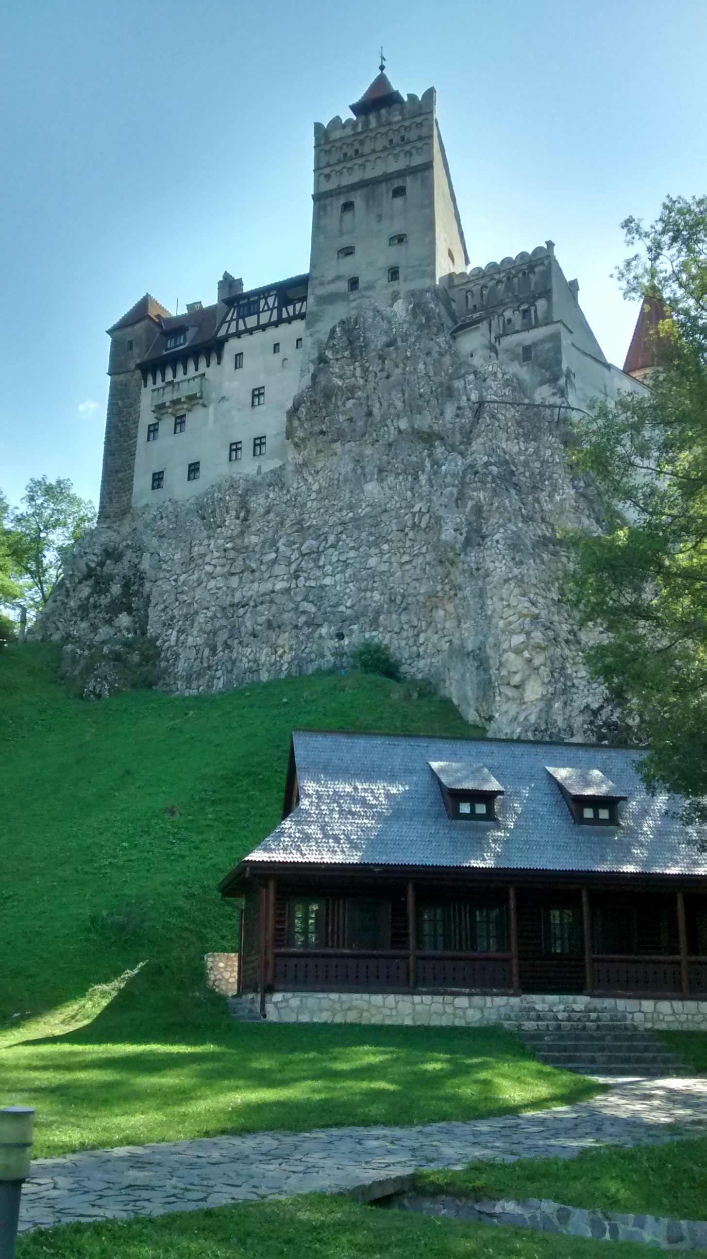 Bran Castle which is Draculas home